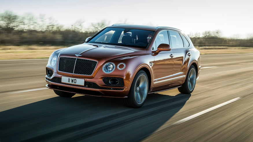 The Bentley Bentayga Speed Claims Title Of Fastest Suv - new models bentley 2019