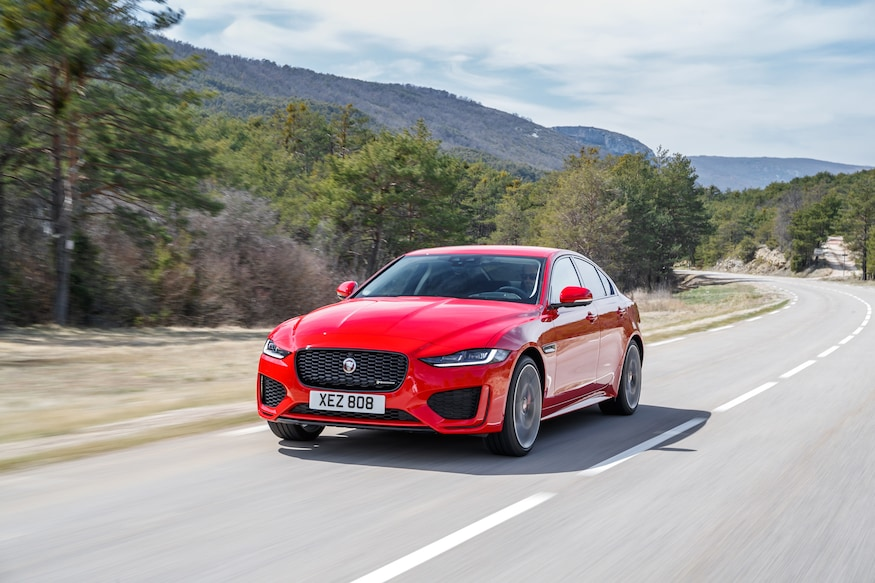 2020 Jaguar Xe Driven Down Two Cylinders Up One Interior