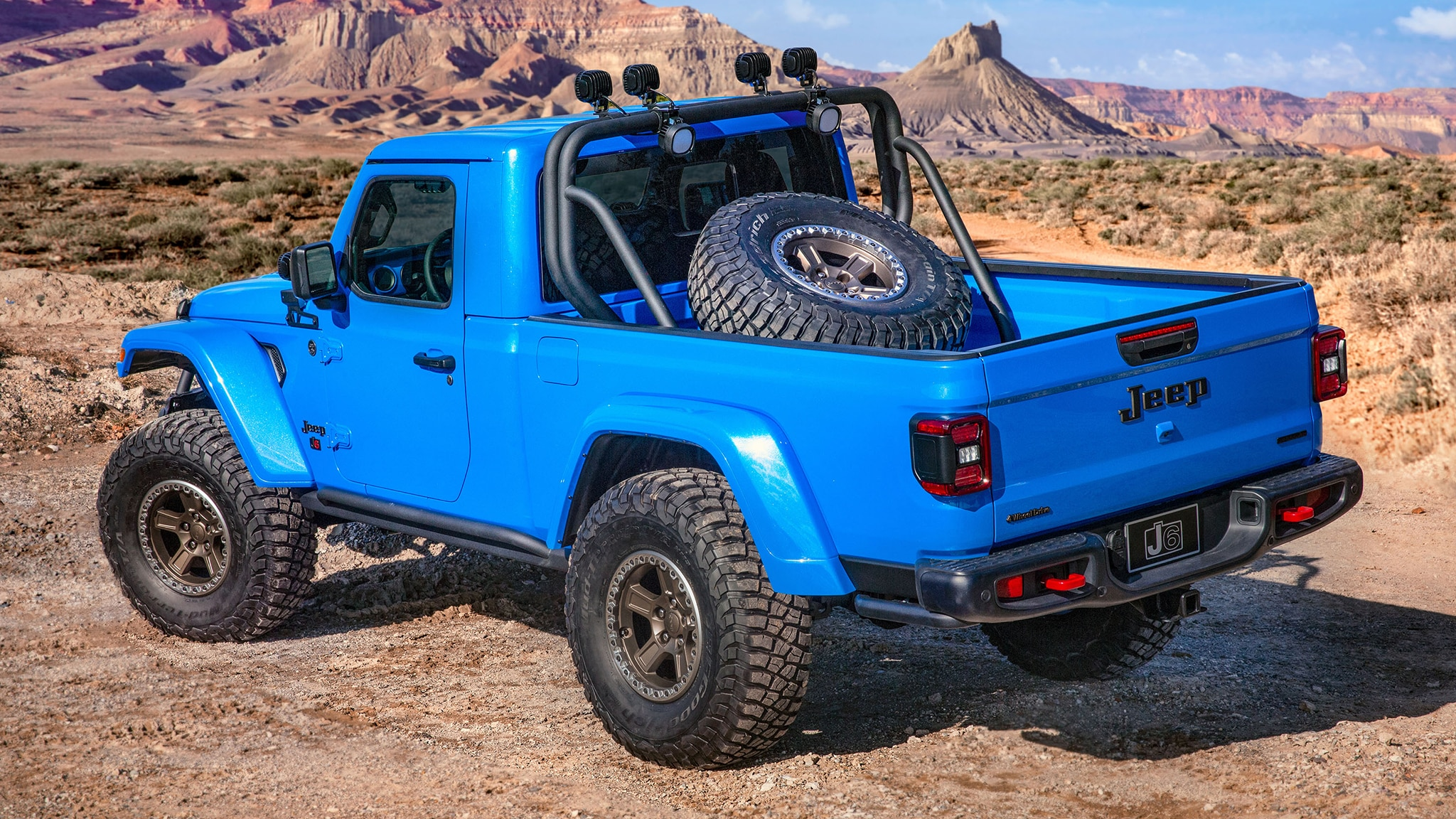 The Jeep J6 Is The Regular Cab Two Door Gladiator Everyone Wants