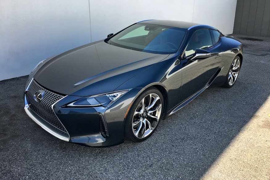 2019 Lexus Lc500 Review Rolling Art That Drives Like It