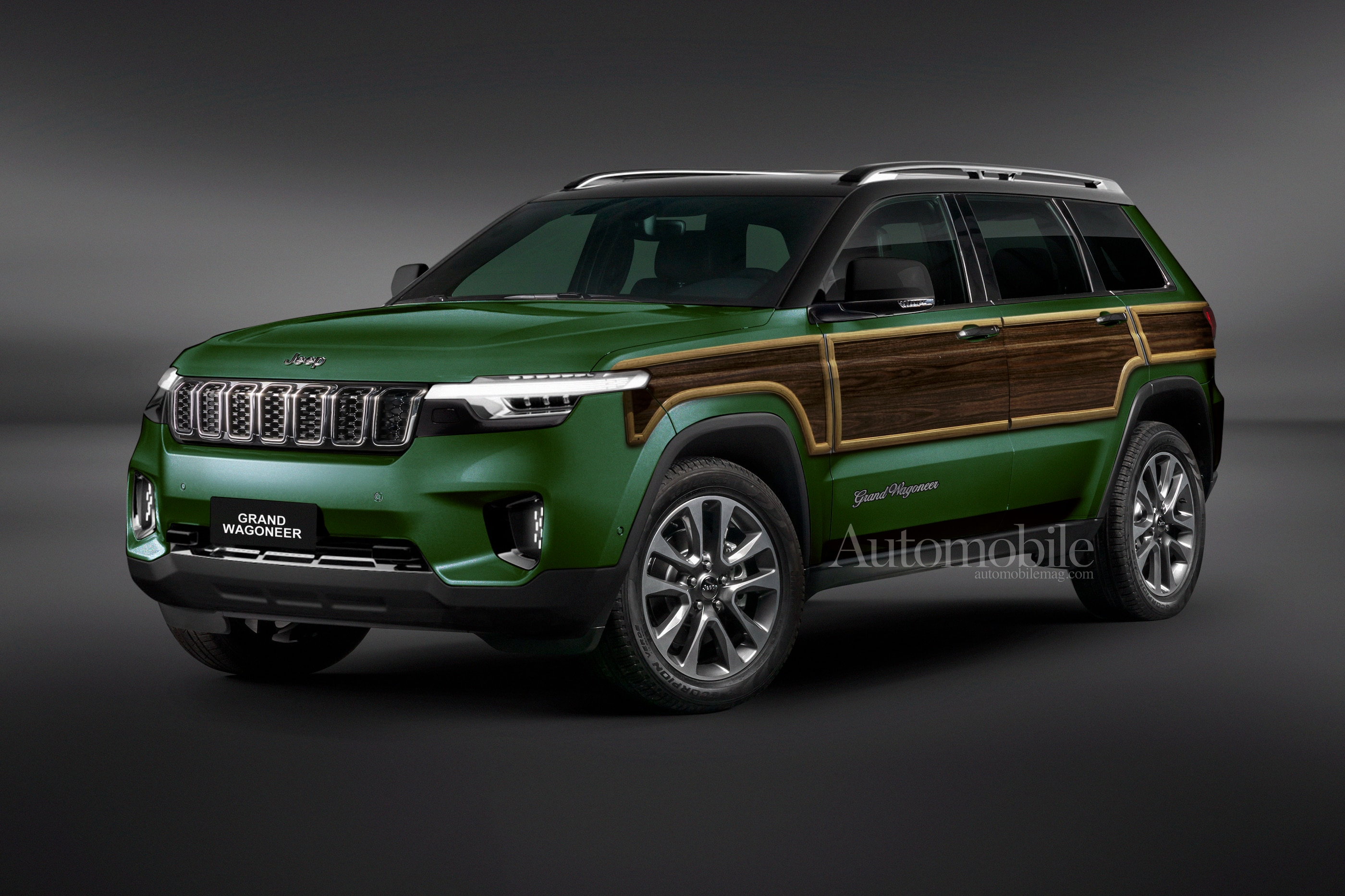 2020 Jeep Grand Wagoneer Spy Shoot