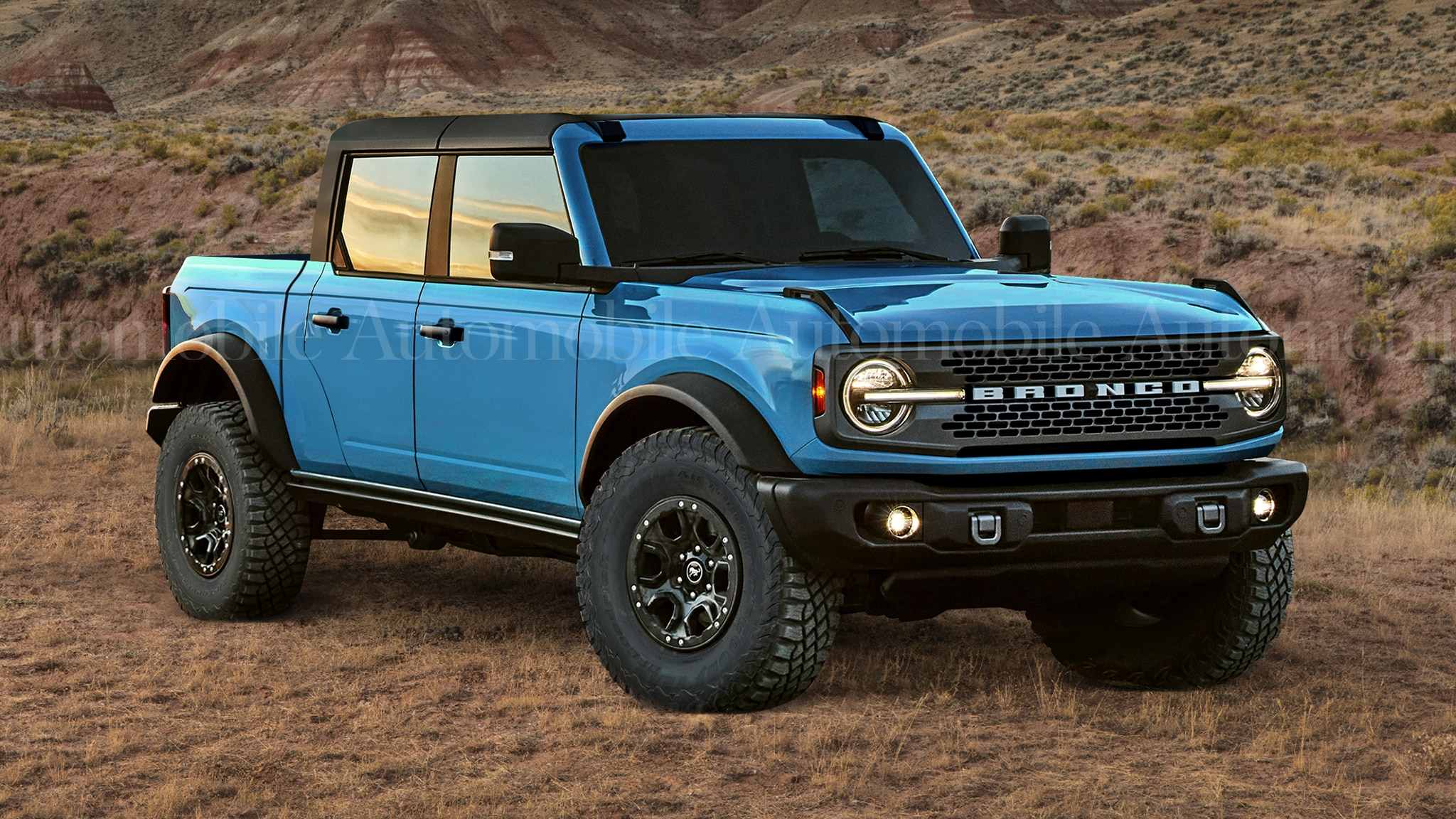 2025 ford bronco pickup photos details equipment