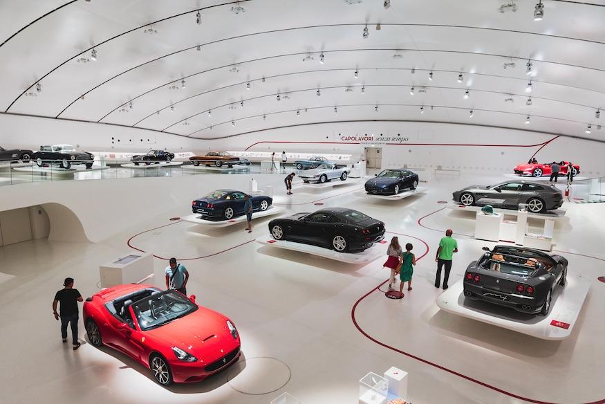 Bellissimo: A Visual Tour of the Ferrari Museum(s)