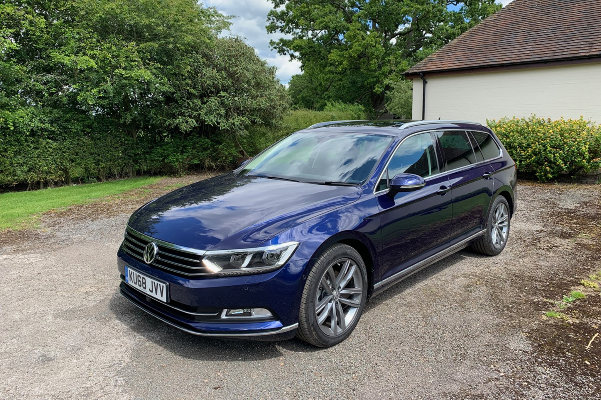 Driven The European Vw Passat Wagon Is Solid Goods
