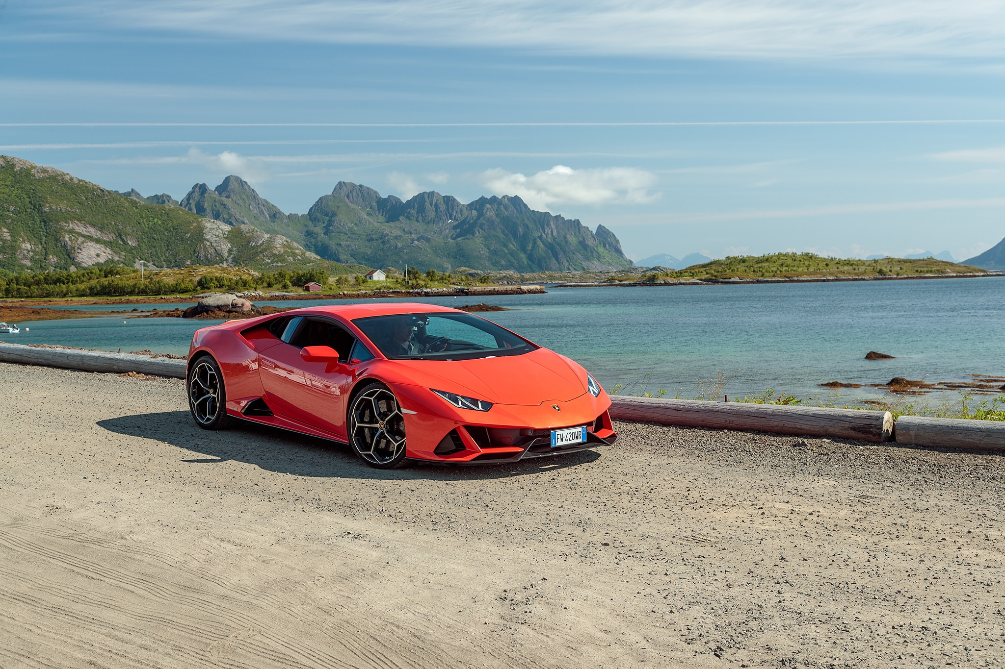 Generally Electric Invading The Land Of Evs In A Lambo
