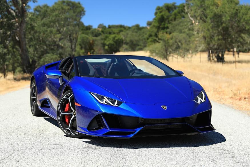 2020 Lamborghini Huracan Evo Spyder First Drive Shredding