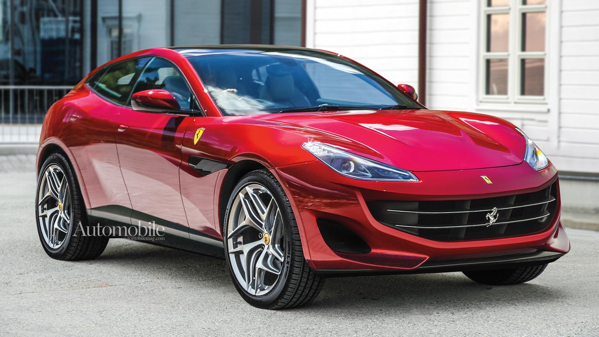 2022 Ferrari Purosangue Suv Renderings Rumors