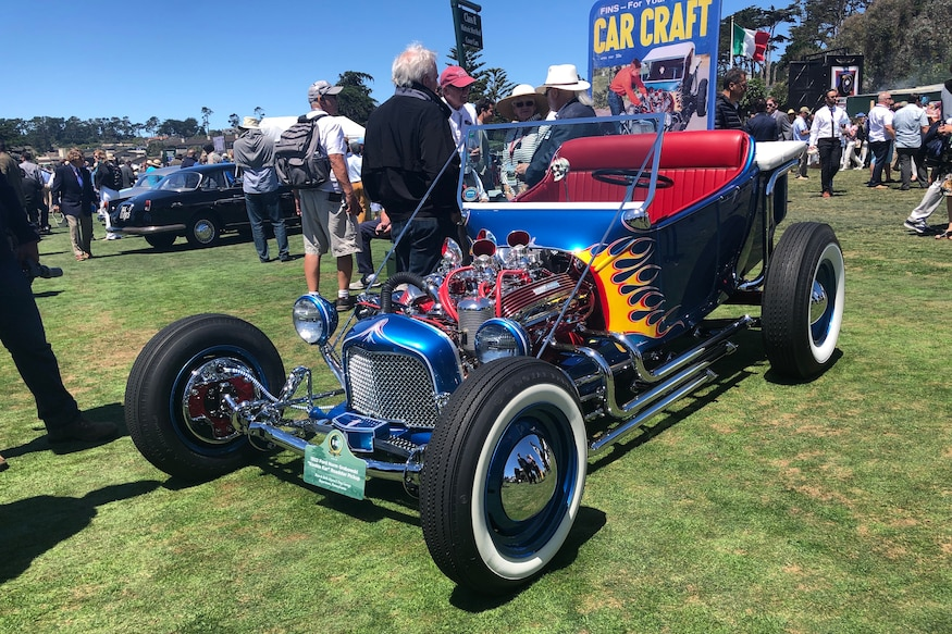Pebble Beach Car Show >> Hot Rods At The Pebble Beach Concours 2019 Automobile