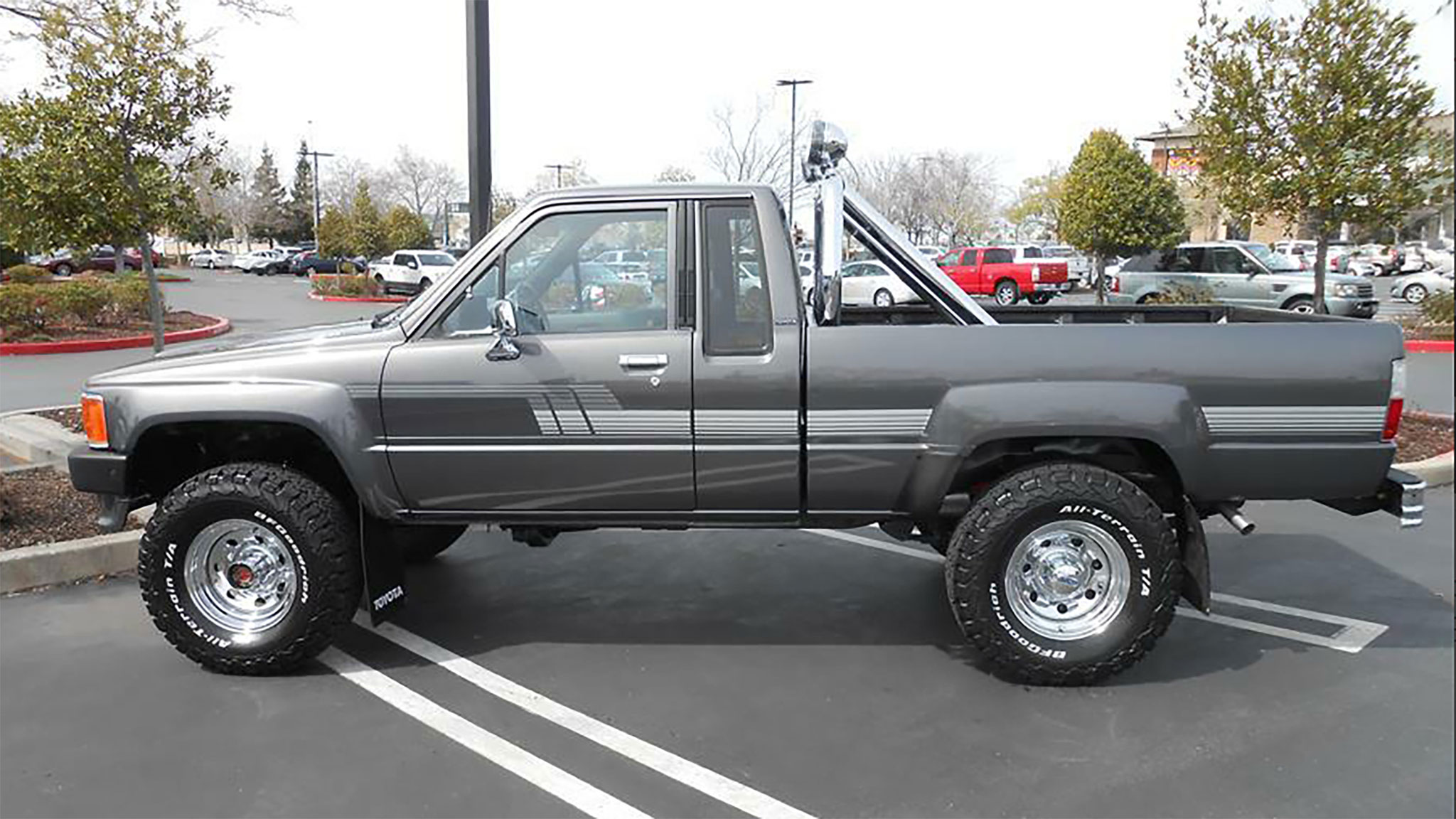 This Restored 1987 Toyota Pickup Truck Will Have You Rolling Like A Mcfly