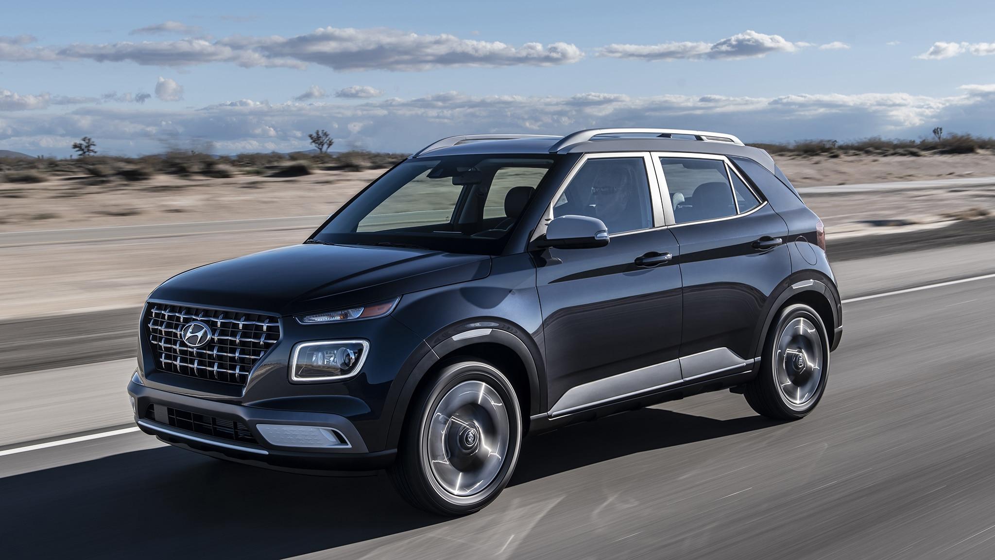 2020 Hyundai Venue First Drive Review: The Cheap New SUV ...