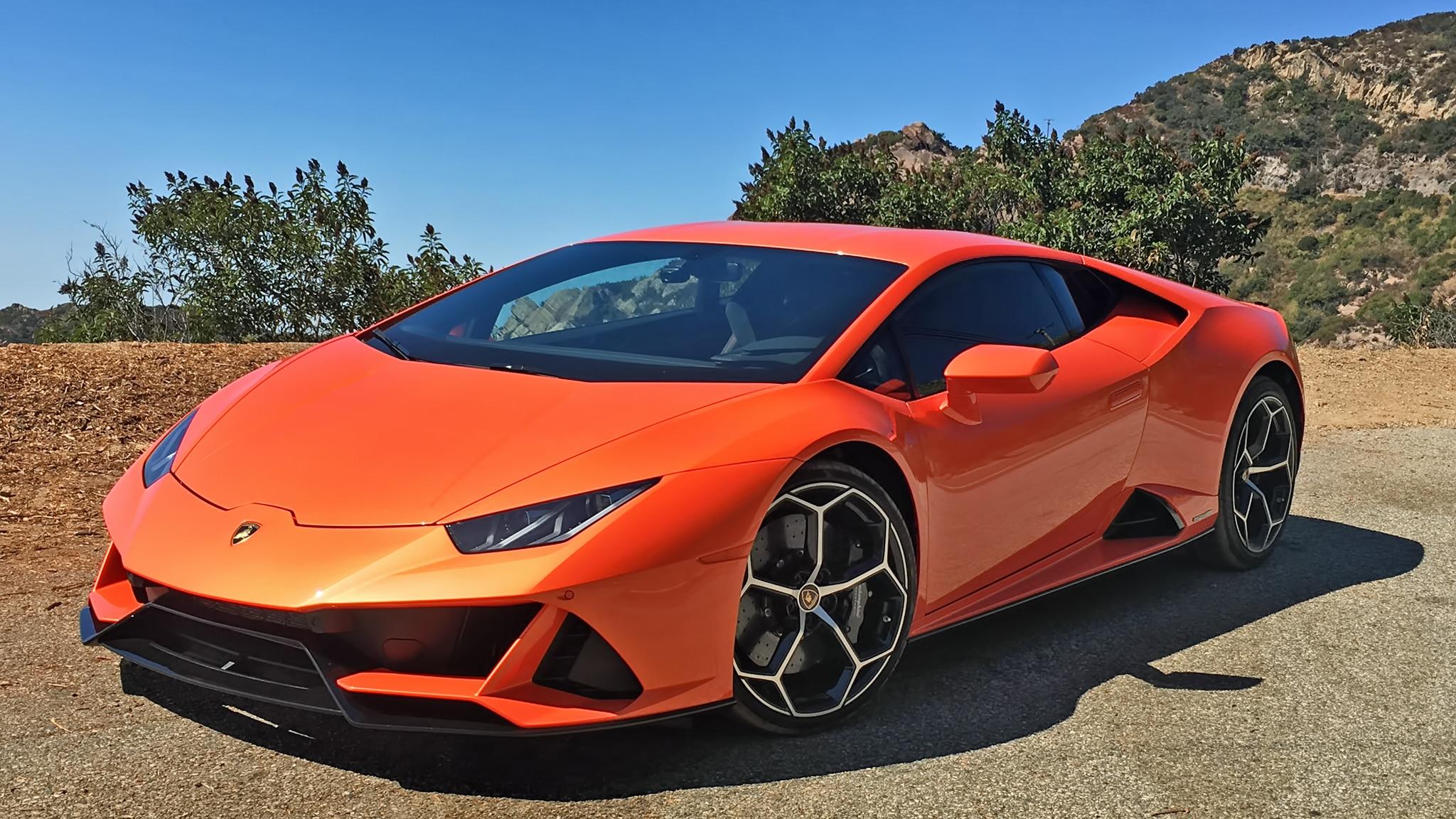 2020 Lamborghini Huracán Evo Review A Brain Blender