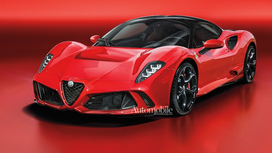 2023 Alfa Romeo 8c Rendered More Alfa Future Cars