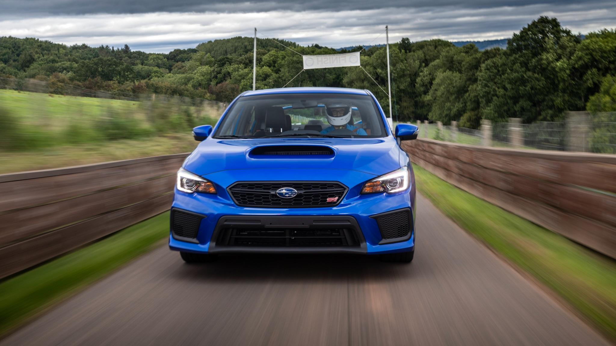 Chasing Prewar Ghosts and a Hillclimb Record in a 2019 Subaru WRX STI
