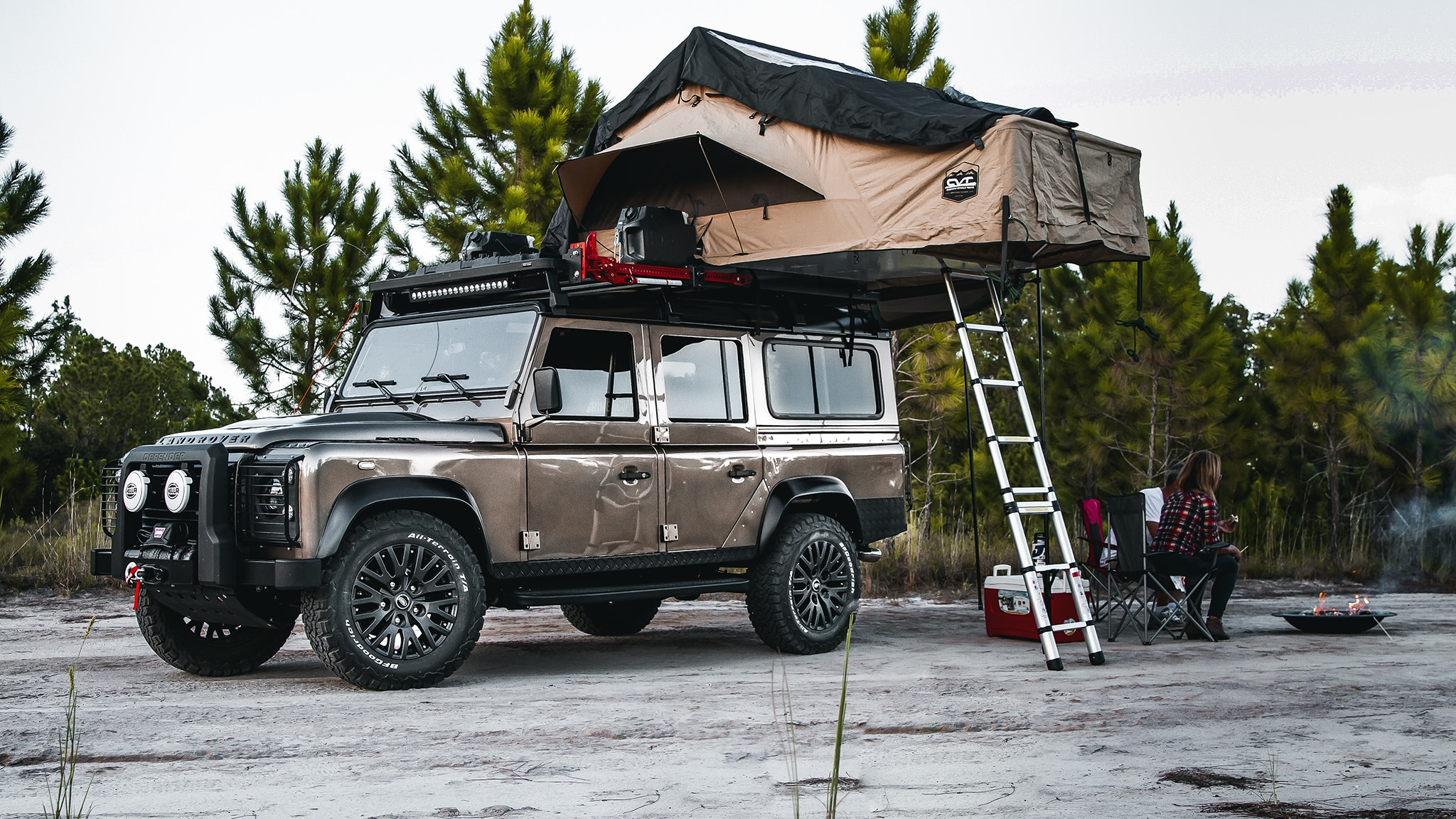 This Land Rover Defender Overland Camper Is Super Luxe