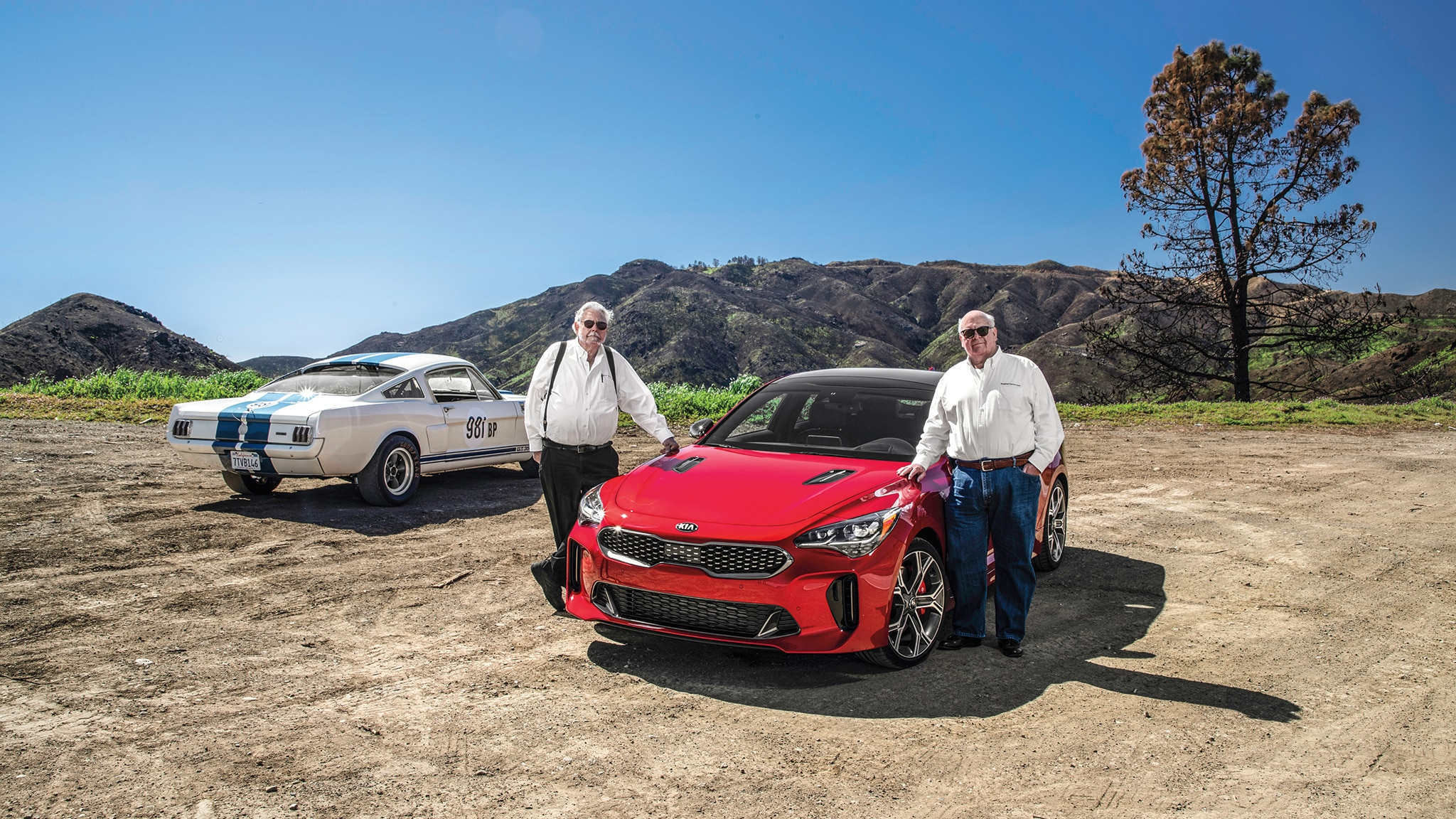 What Do Old-School Mustang Guys Think of the Kia Stinger? | Automobile Magazine