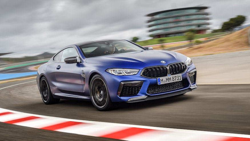 2020 Bmw M8 Coupe Convertible First Drive Review They Re