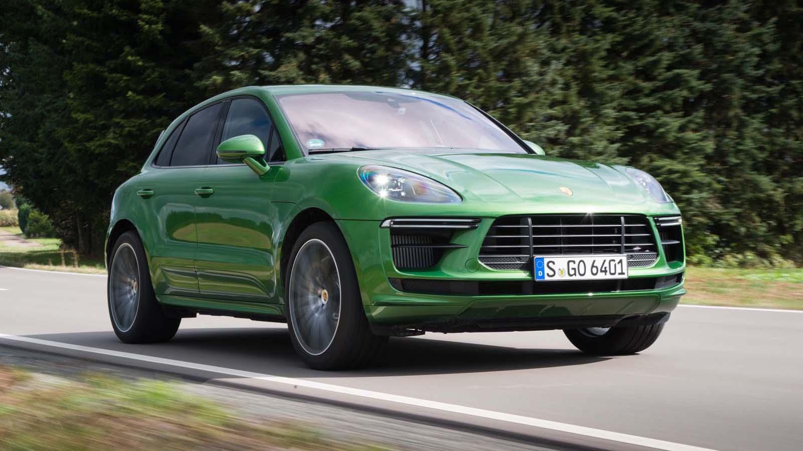 2020 Porsche Macan Turbo First Drive Review Absolutely Stellar