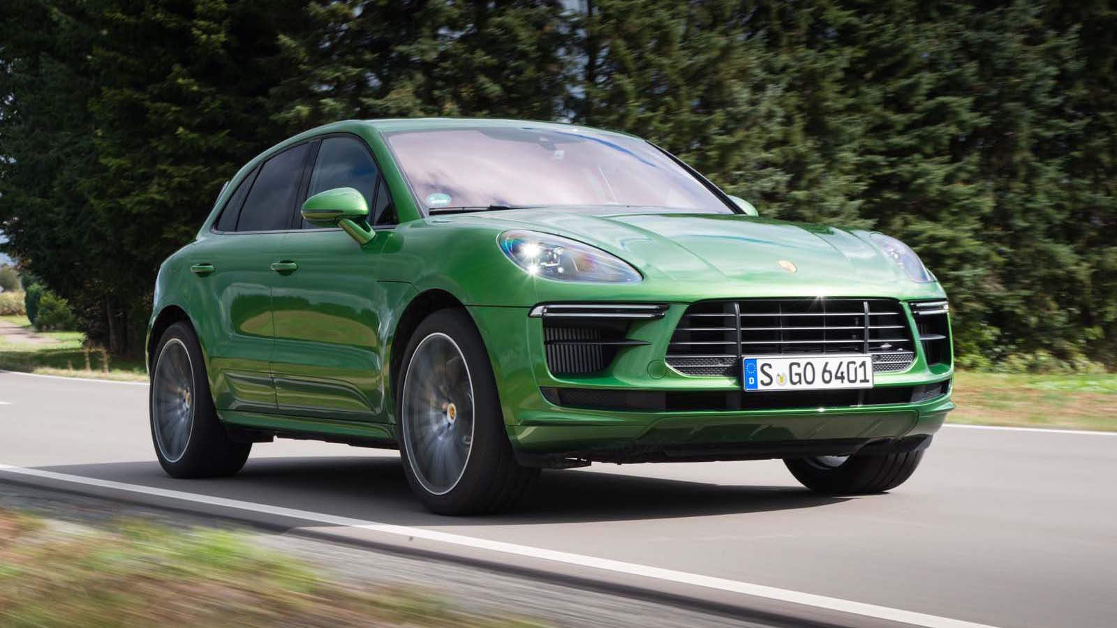 2020 Porsche Macan Turbo First Drive Review Absolutely
