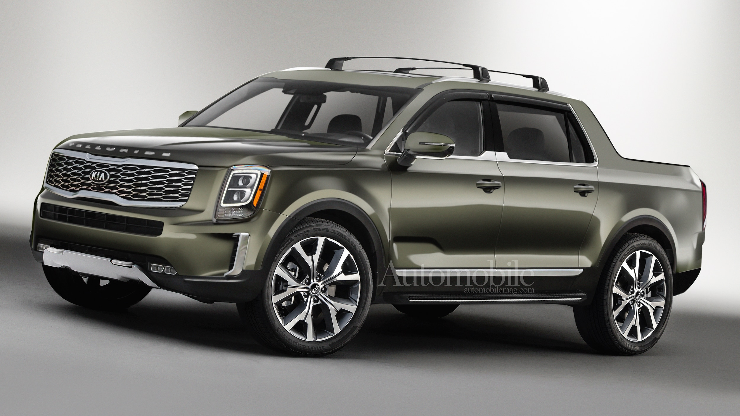Jeep Grand Wagoneer 2018 >> Kia Telluride Pickup Truck: Renderings + Rumors - Automobile