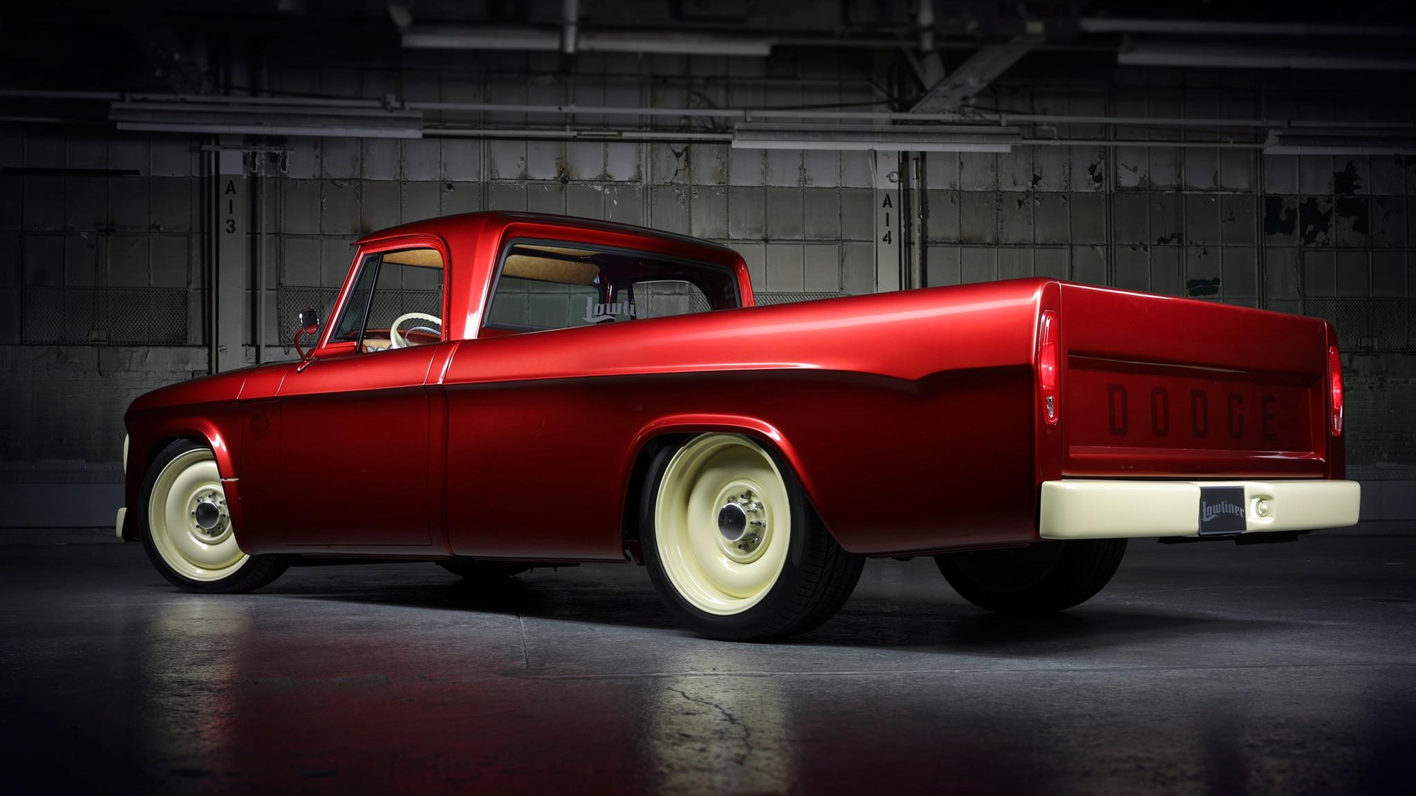 Old Dodge Pickup Cummins Diesel New Ram Bed Mopar Lowliner