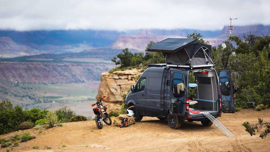 Outside Van 01