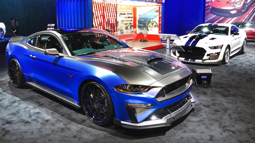 Sema Auto Show 2020.In Photos Every Ford In The Blue Oval Booth At The 2019