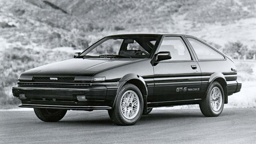 1984 1987 Toyota Corolla GT S liftback