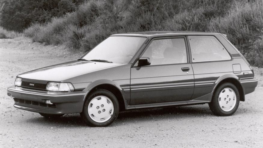 1987 Toyota Corolla FX16 GT S hatchback 1