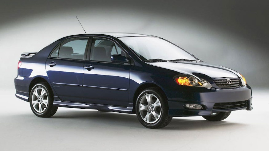 2003 Toyota Corolla XRS