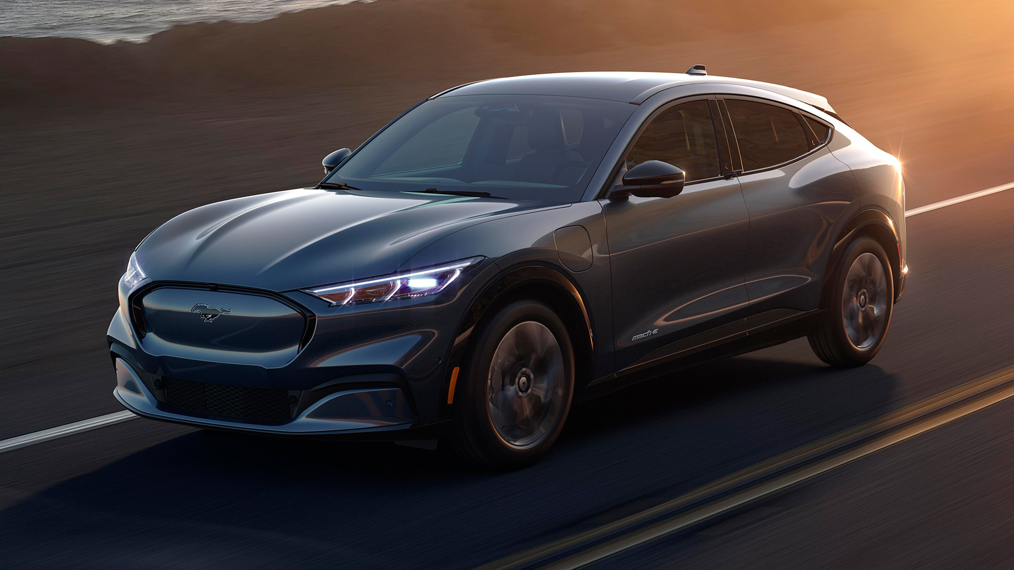 2021 Ford Mustang Mach E Electric Suv This Is It
