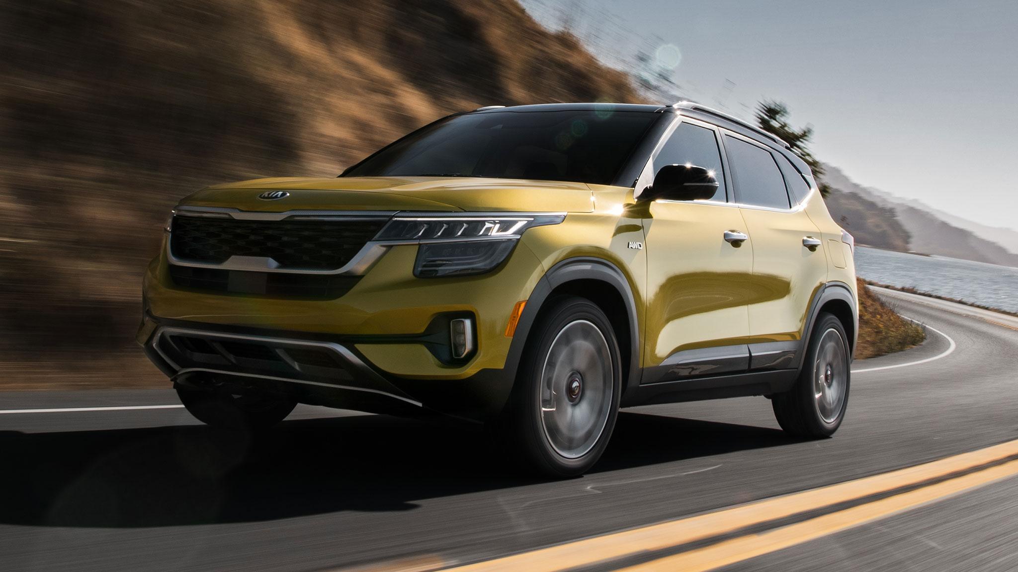 2021 Kia Seltos Compact SUV Puts on a Refined Face ...
