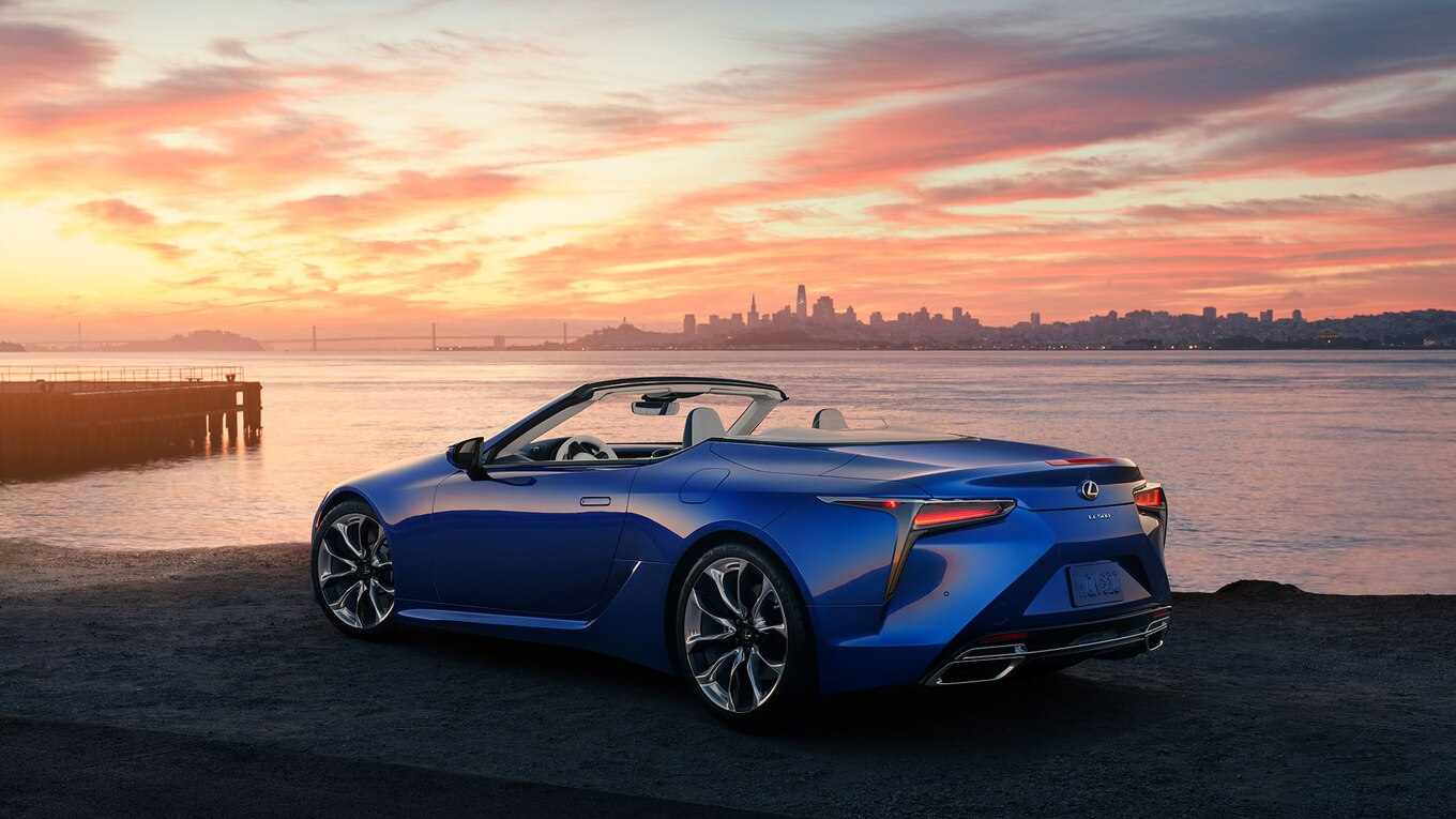 the gorgeous 2021 lexus lc500 convertible was worth the wait