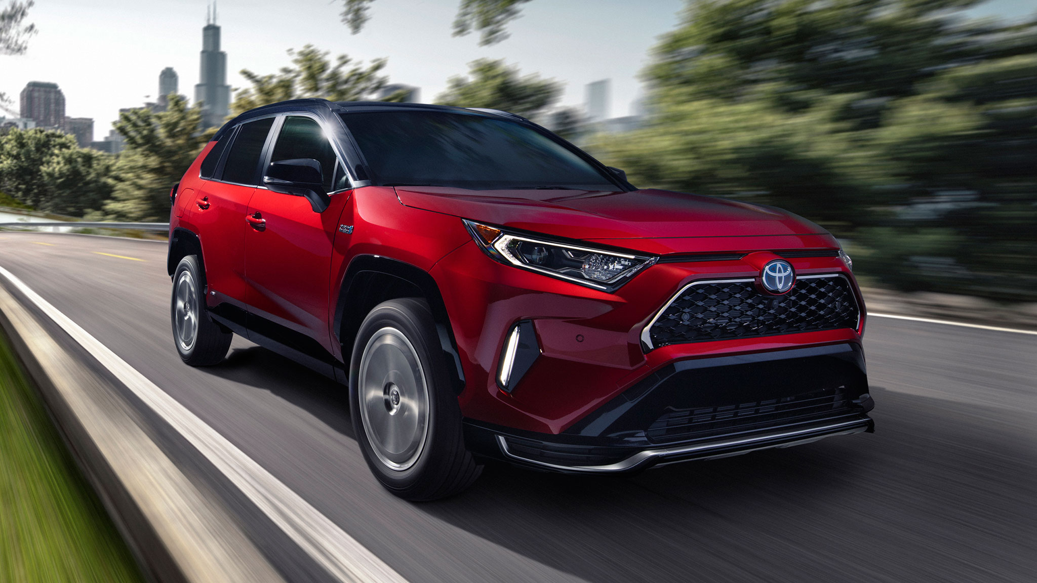 The 2021 Toyota RAV4 Prime Plug-In Packs 302 Scintillating ...