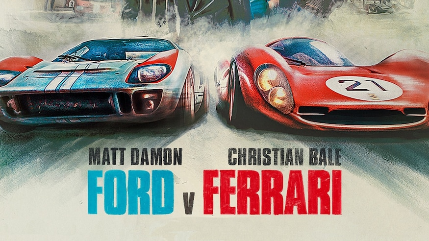 Ford v Ferrari Scale Model Cars