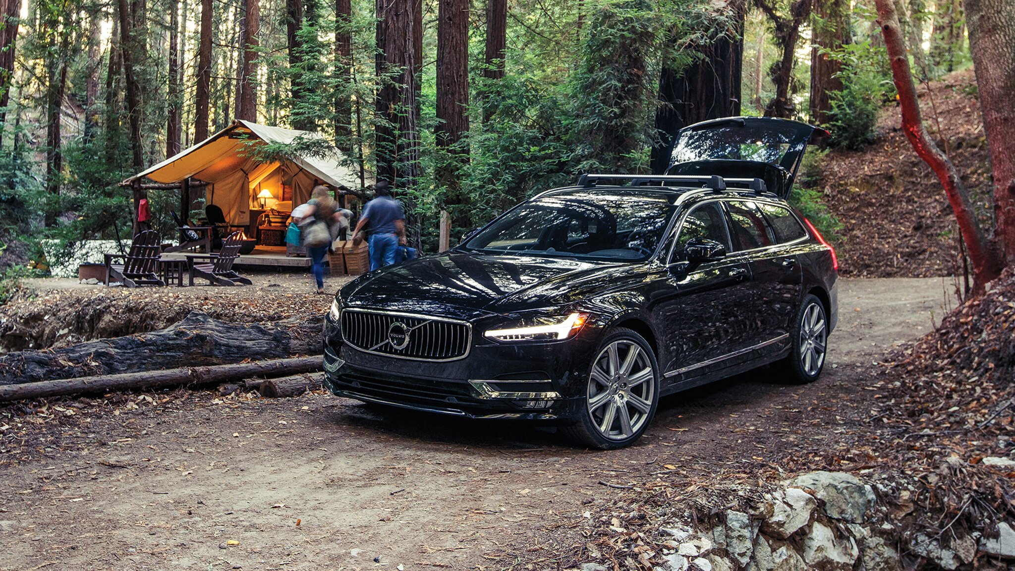 We Go Glamping With Our Long Term Volvo V90 Wagon