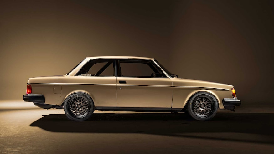This 1983 Volvo 242 Has A Supercharged Small Block Heart