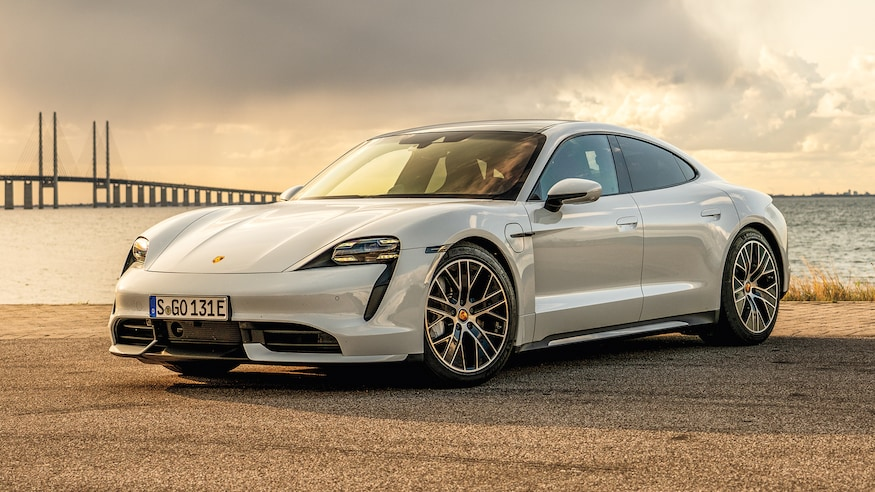 The Porsche Taycan Is The 2020 Design Of The Year