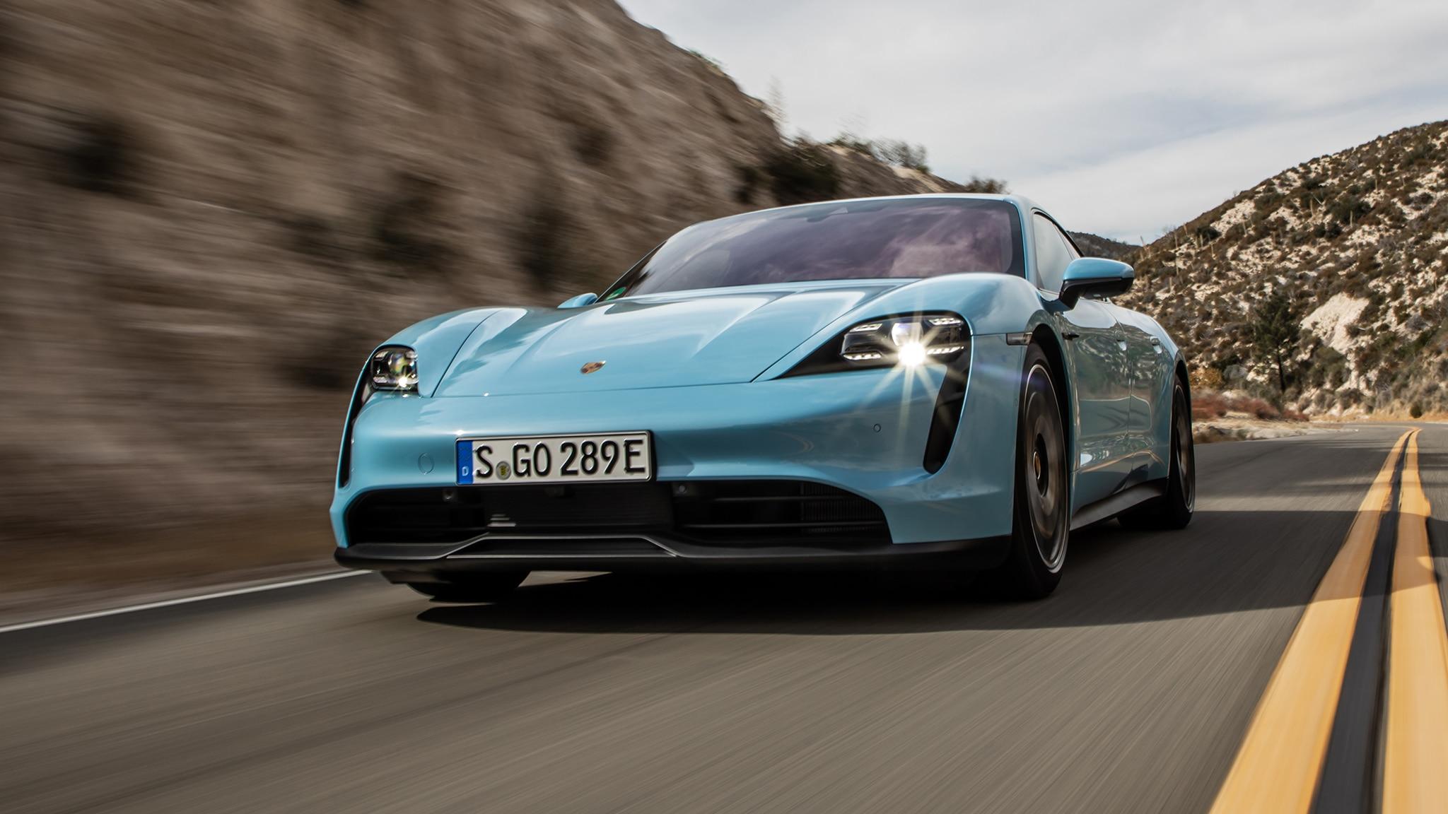 2020 Porsche Taycan 4s Review A Fast Silent Go In Stuttgart S Lowliest Ev