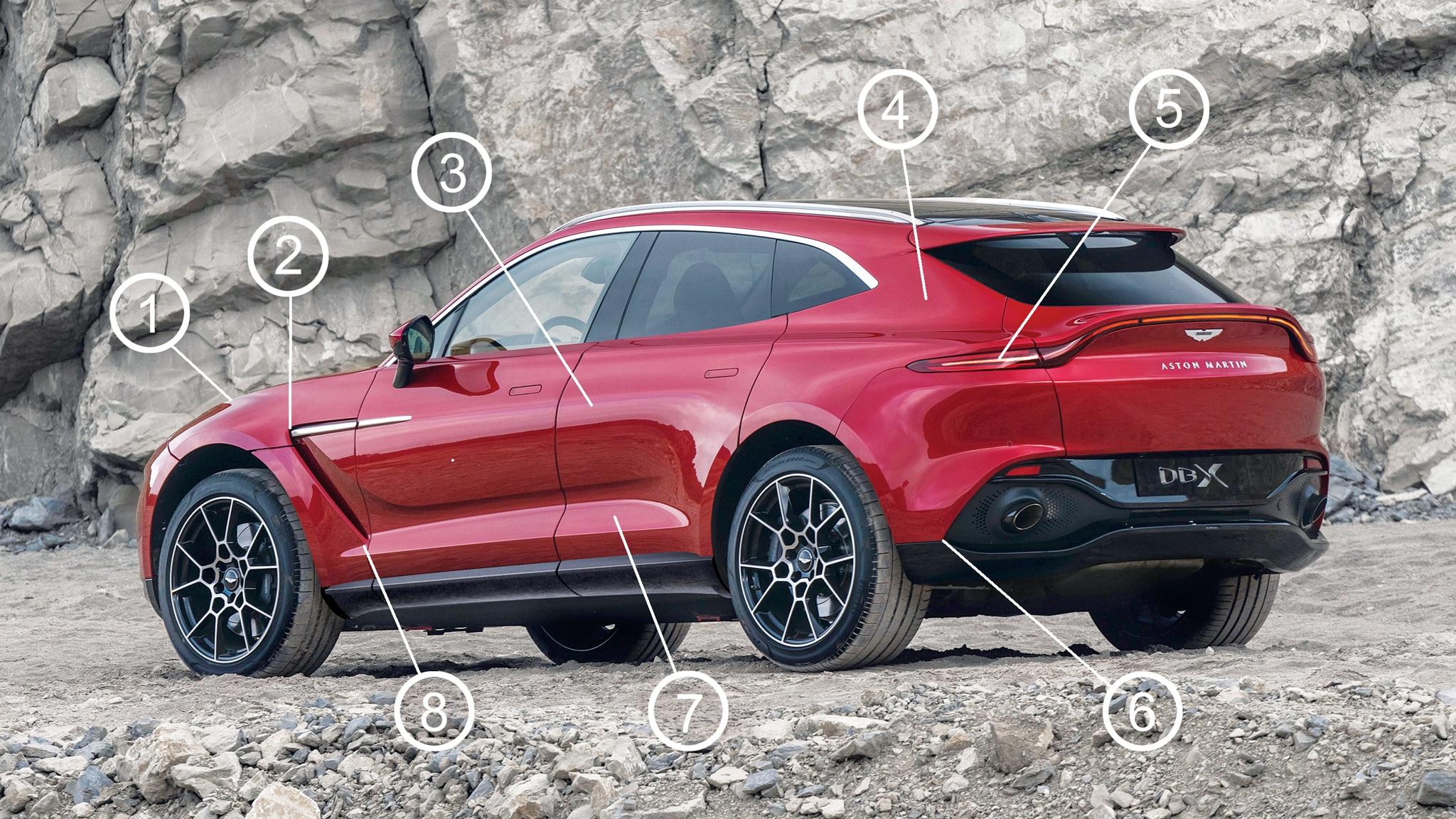 Aston Martin Dbx Design Analysis Is Am S First Suv A Visual Winner