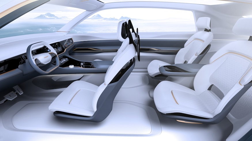 Fiat Chrysler Airflow Vision Concept Interior Profile View