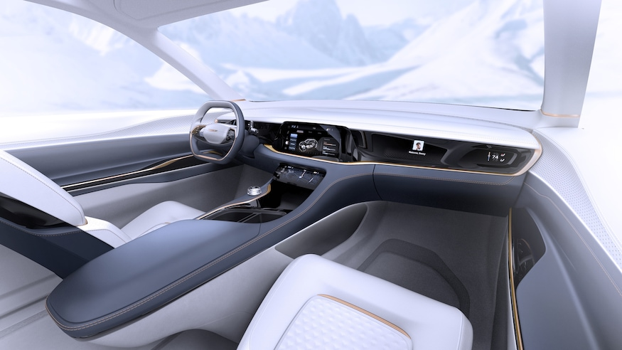 Fiat Chrysler Airflow Vision Concept Interior Wide View