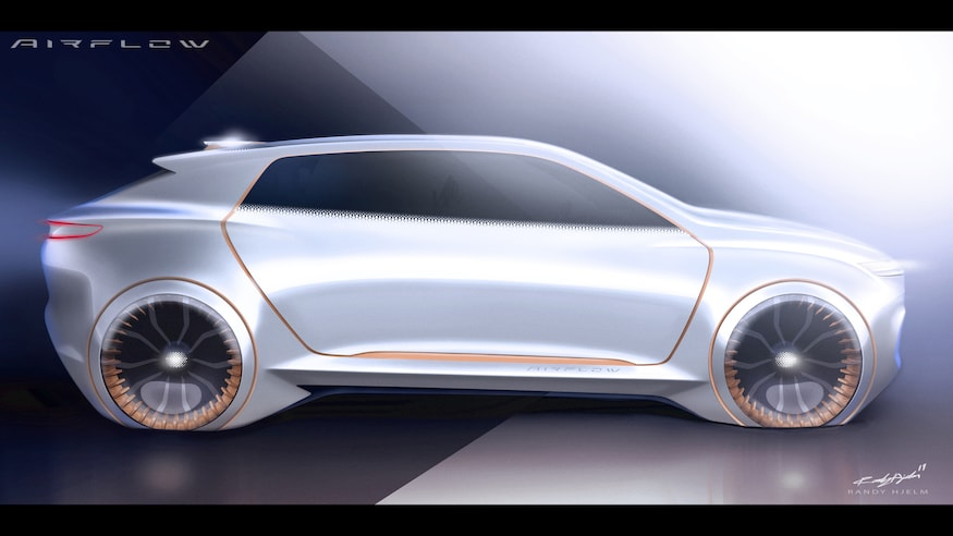 Fiat Chrysler Airflow Vision Concept Side View