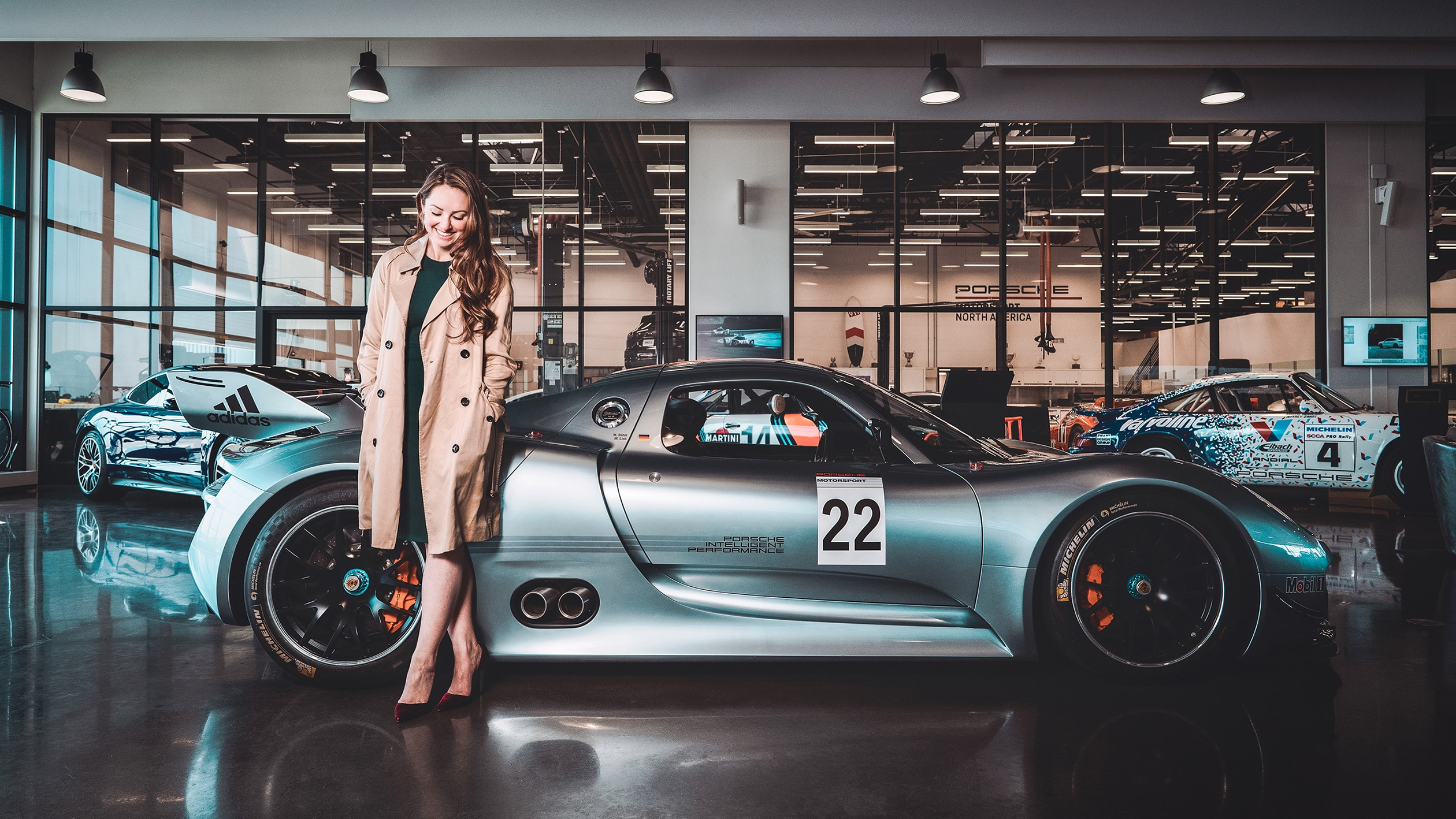 "Interview: Porsche's Jennifer Nicole Malacarne, a.k.a. ""G.I. Jen"""