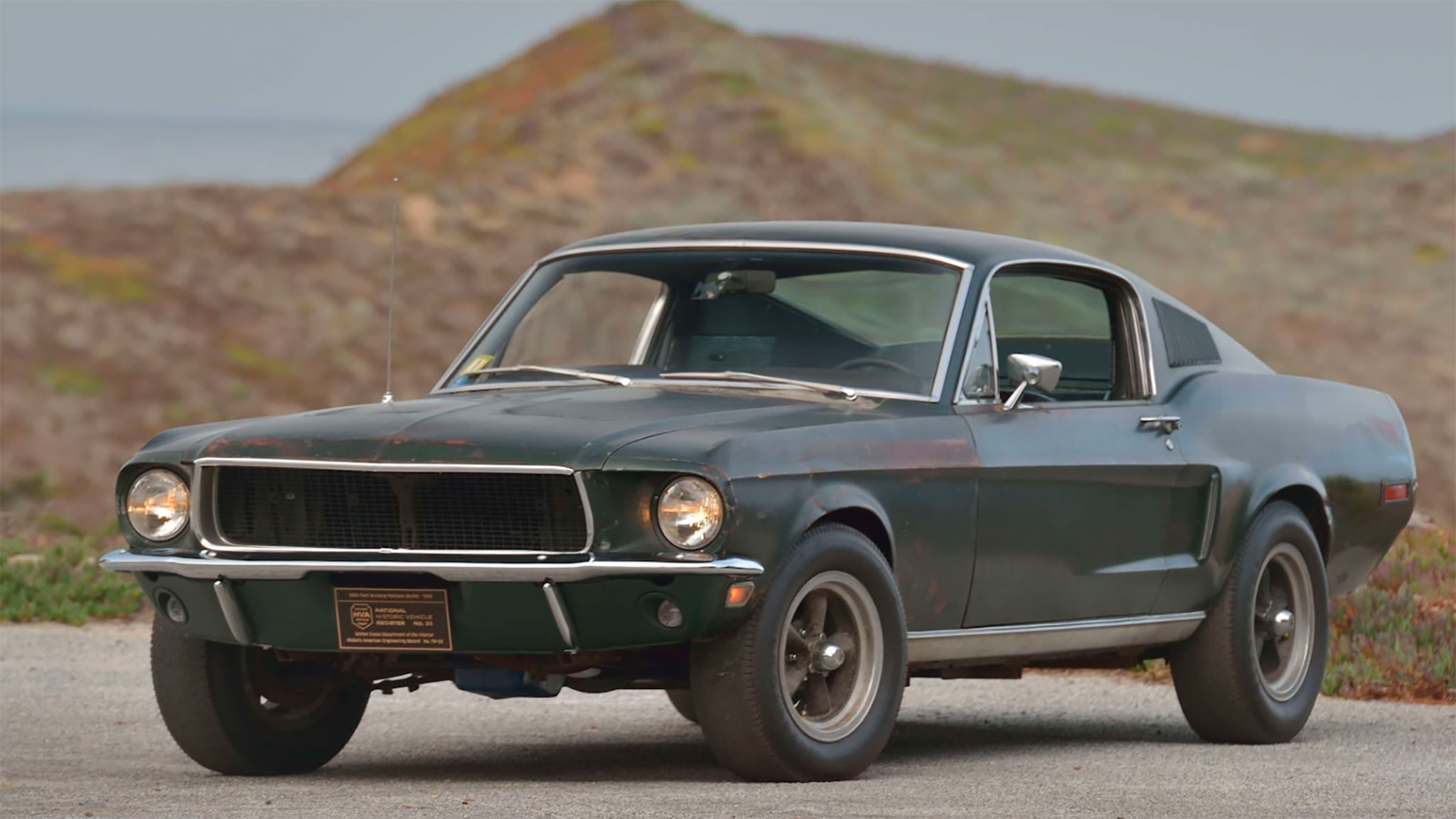 how much did the bullitt mustang bring at auction  a lot