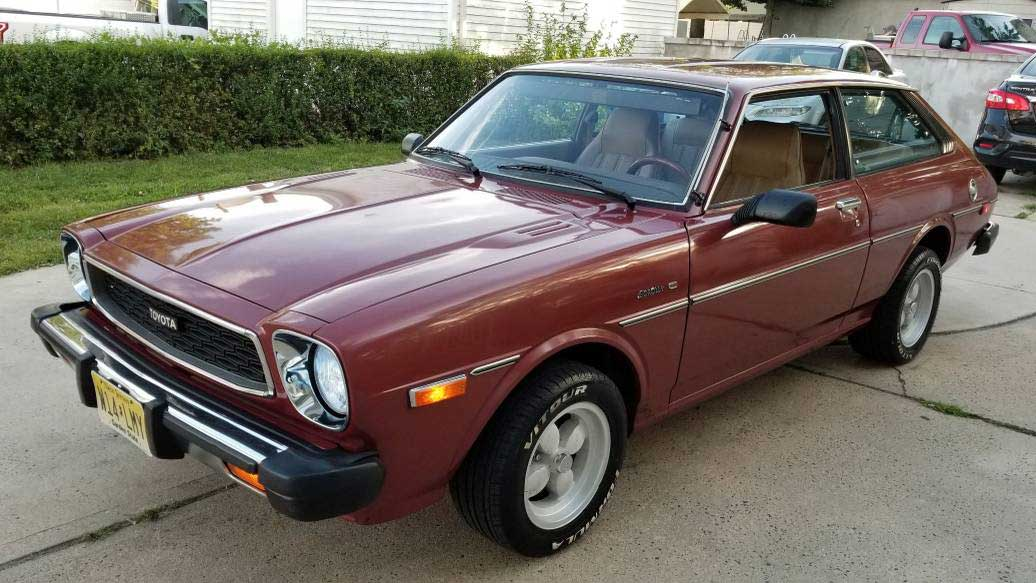 Cool Classic '79 Toyota Corolla for Sale, Sweet Four-Spoke Wheels Included