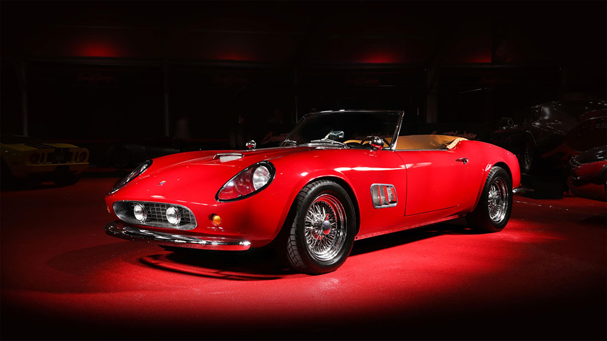 Ferris Bueller Ferrari California Spyder Replica Sells For Nearly $400,000