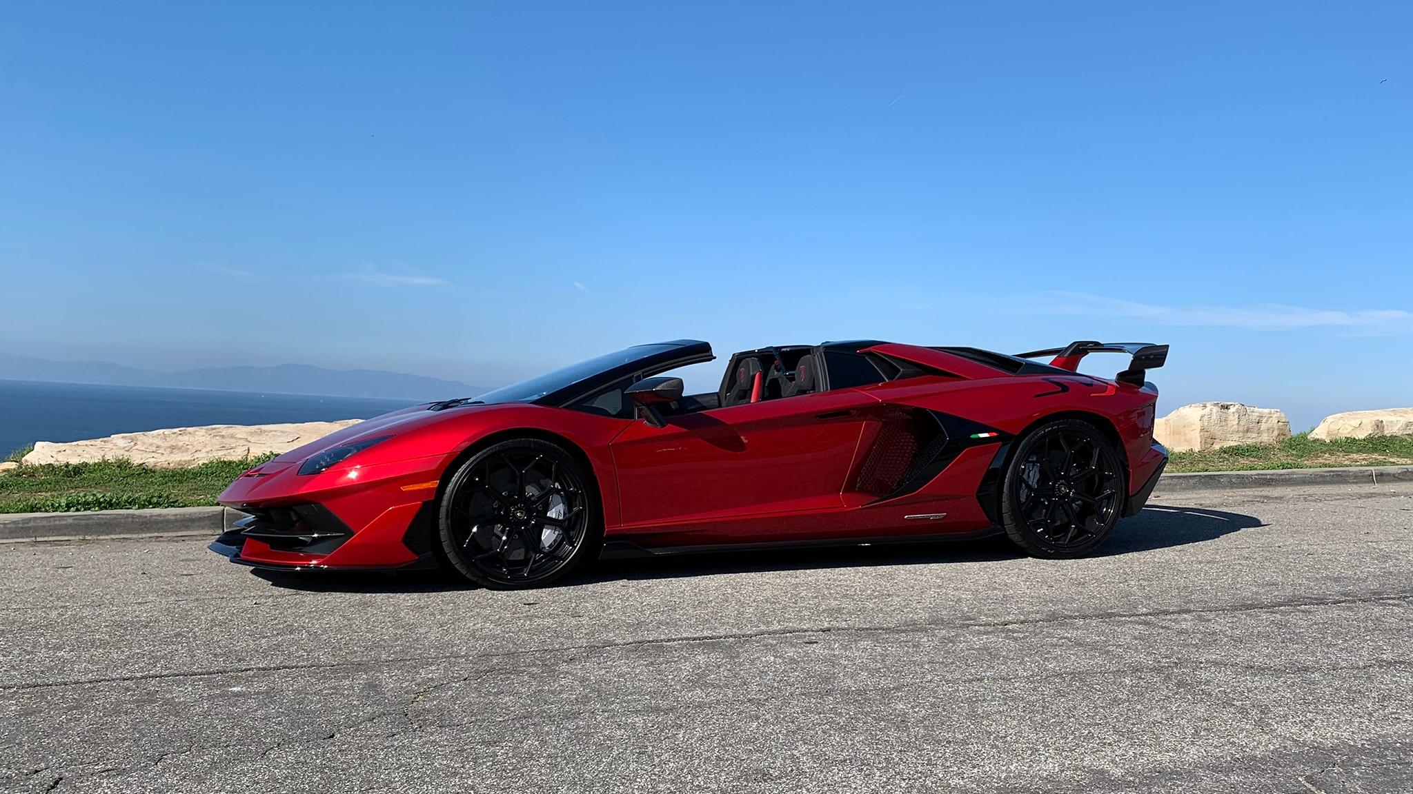 The Lamborghini Aventador SVJ Roadster is One Wild Open,Top