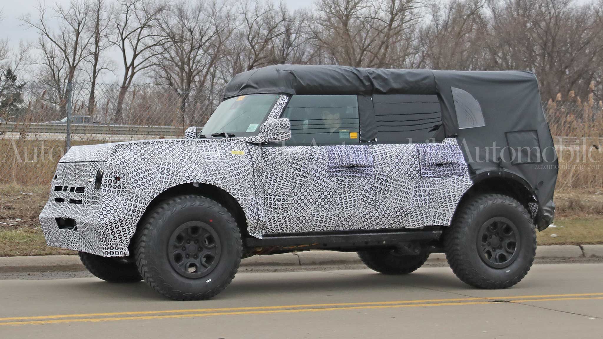 Could Burly 2021 Ford Bronco Prototype Be the Bronco Raptor?