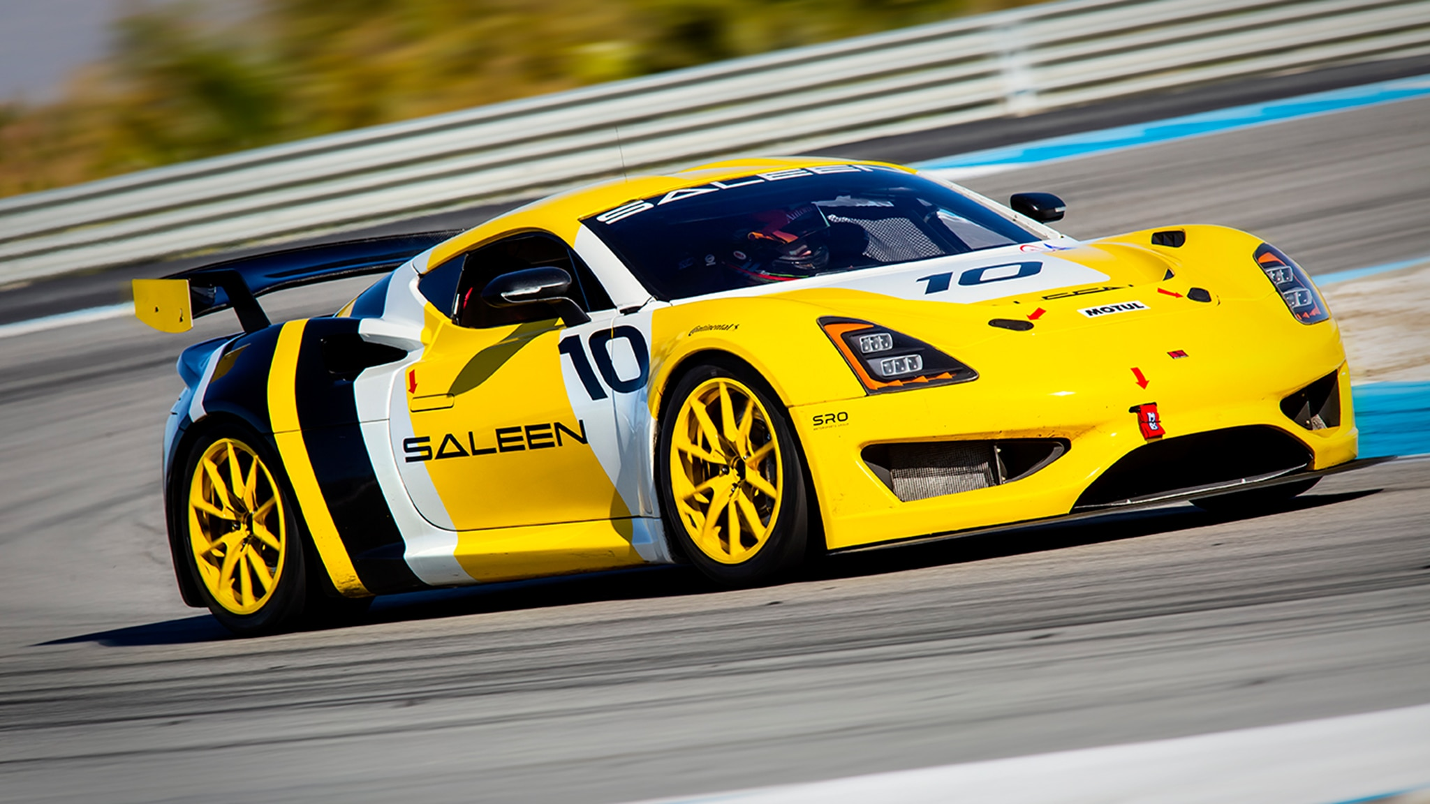 Fast Blast We Drive The Mega Fun Saleen S1 Cup Race Car