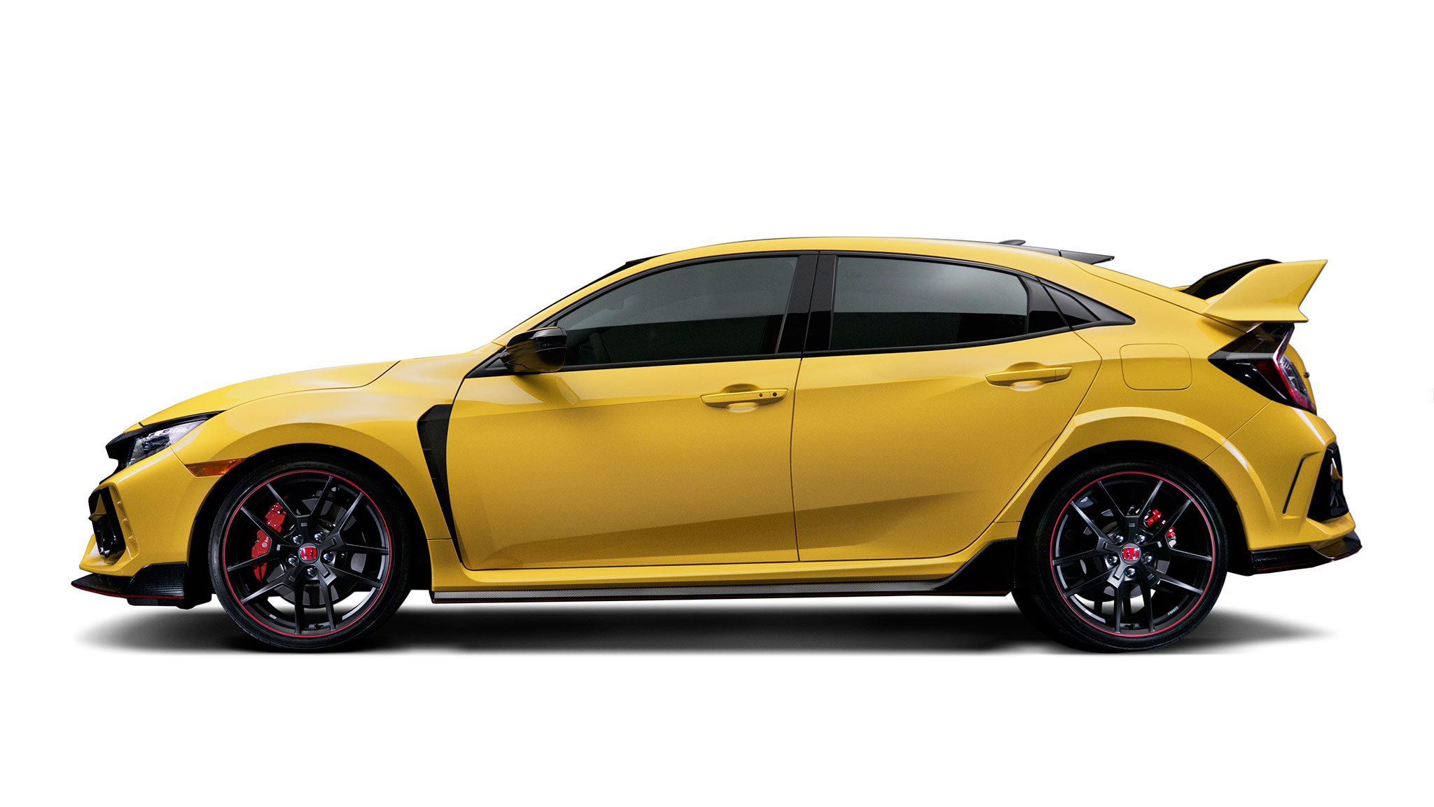 2021 Honda Civic Type R Limited Edition Lighter Yellow And Re Tuned